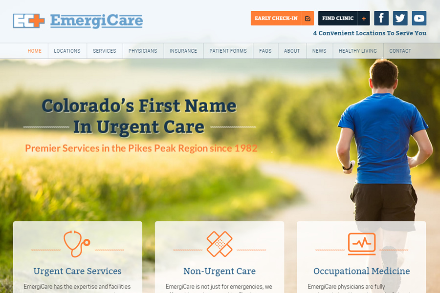 Urgent care colorado springs pueblo emergicare for Website to design a house